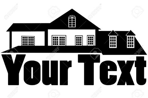 home construction clipart black and white mansion clipart black and white clipground