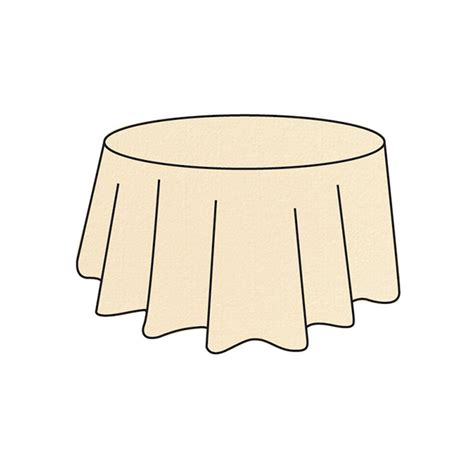 nappes rondes jetables ivoires nappes rondes promotions vaissellejetable fr thouy