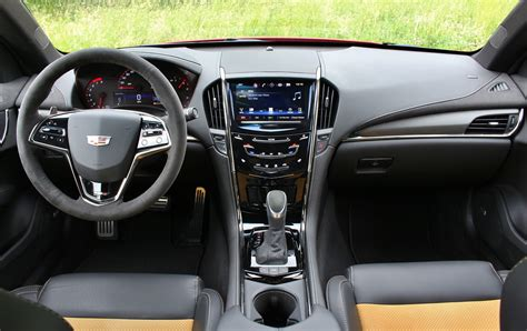 cadillac ats interior minimalist 2016 bmw m3 competition package vs cadillac ats v test