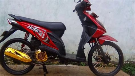 Foto Modification Motor Beat by Foto Modifikasi Motor Beat Merah Terkeren Dan Terbaru
