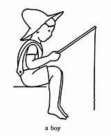 Fishing Boy Coloring Colouring Template Ausmalbilder Angeln Pusheen Beaver Relampago Fish Printable Sketch Pole Sheets Votos Kinder Malvorlagen Zum Azcolorir sketch template