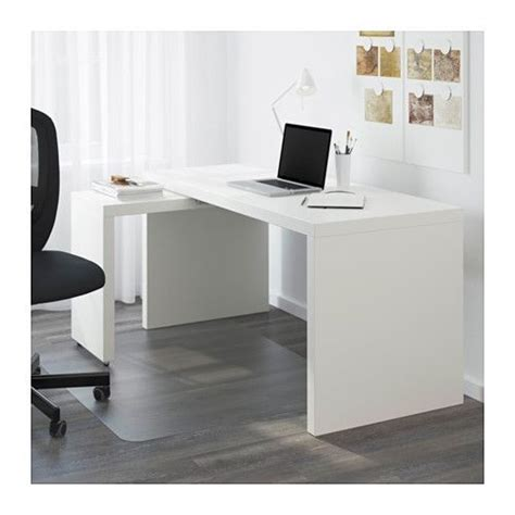 ikea malm bureau malm desk with pull out panel white malm ikea and desks