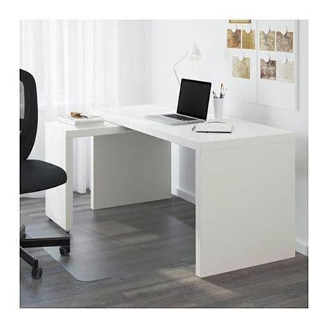 ikea malm bureau malm desk with pull out panel white malm ikea and desks