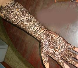 The Cultural Heritage of India: Mehndi : Henna Designs