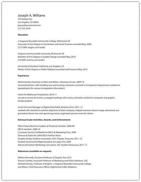 accents on resume resume ideas