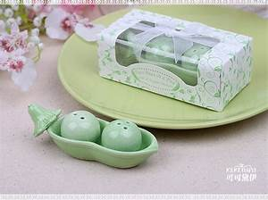 100set lot two peas in a pod ceramic salt pepper shakers With two peas in a pod wedding favors