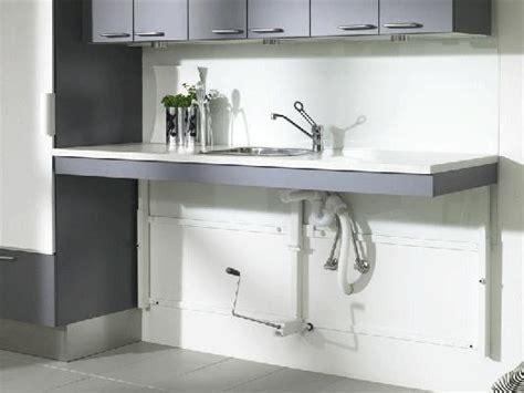 hauteur id饌le plan de travail cuisine simple système pour plans de travail réglable en hauteur manuellement