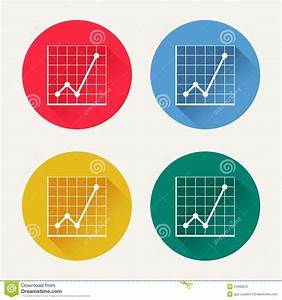 Vector Diagram Icon Set Stock Vector  Illustration Of