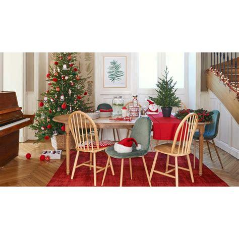chaise style scandinave en velours vert clyde maisons du