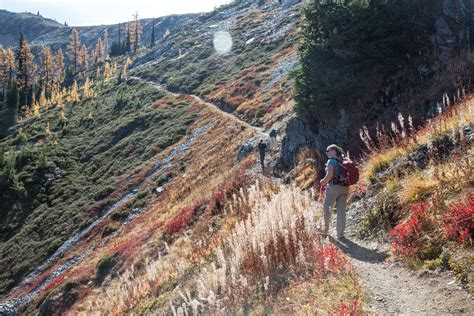Fall Color At Heathermaple Pass Loop Littlegruntscom