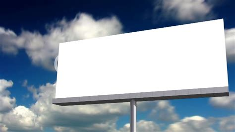 Blank Billboard blank billboard royalty  video  stock footage 1280 x 720 · jpeg
