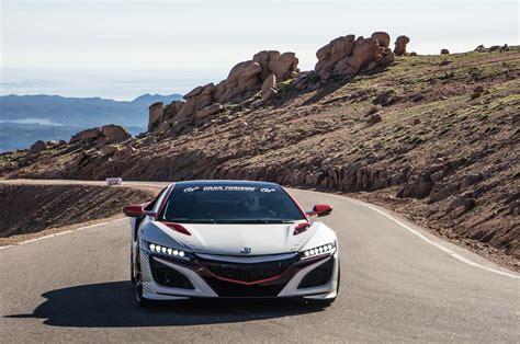 Watch The 2016 Acura Nsx Roar Around Pikes Peak