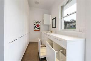 Laundry hamper ideas laundry room contemporary with narrow
