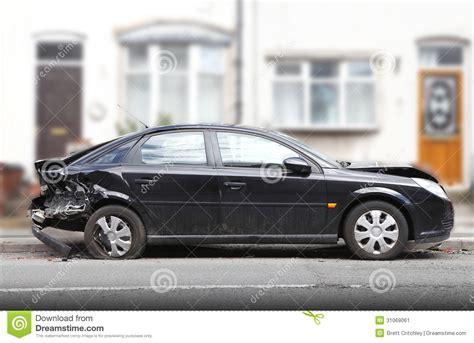 car crash damage stock image image