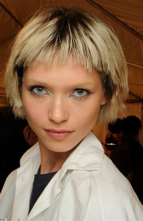 trendy short bowl cut hairstyles  women styles weekly