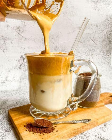 How to make dalgona coffee: Vegan Dalgona Coffee (TikTok Whipped Coffee)   The Edgy Veg   Recipe in 2020   Edgy veg, Coffee ...