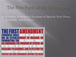 PPT - 1 st Freedom of religion, speech, press, petition ...