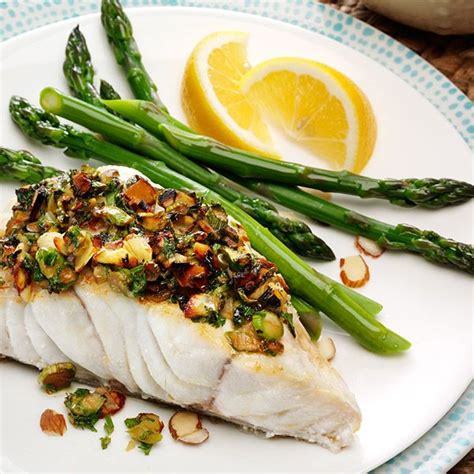 grouper recipes fish entree crusted recipe groupers cooking asparagus food dishes chef almond groupies alex seafood visit stuffed florida lemon