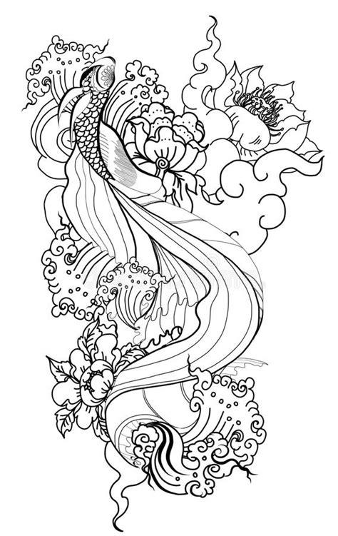 Thai Dragon Isolate Vector And Tattoo Design.Thai Buddhism