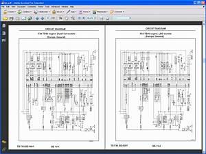 Nissan Forklift Service Manuals