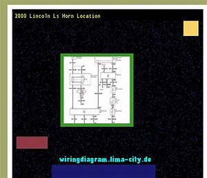 2000 Lincoln Ls Horn Location  Wiring Diagram 175114