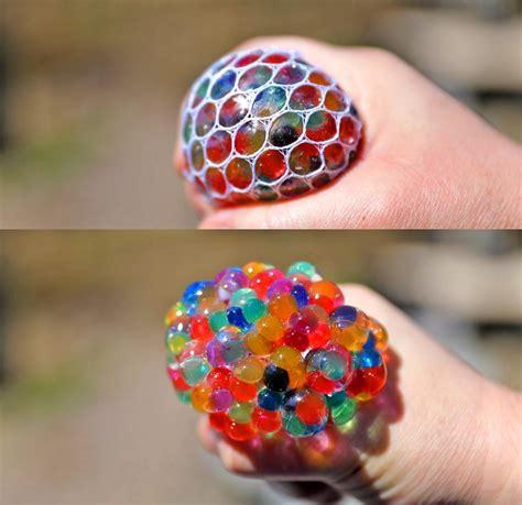 exploding colorful balls stress ball  led lights  pack