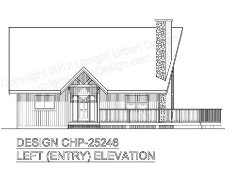 Contemporary Style House Plan 99914 with 2 Bed 2 Bath in