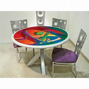 Colorful dining table large and beautiful photos