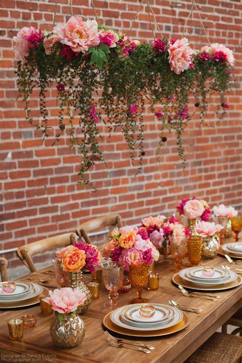 Blumen Hochzeit Dekorationsideenrosen Hochzeit Dekoration by Haengende Tischdeko Hochzeit Floristik Blumenschmuck