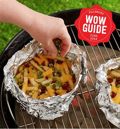 Dogs Grill Fries Recipes Grilling Burgers Foil