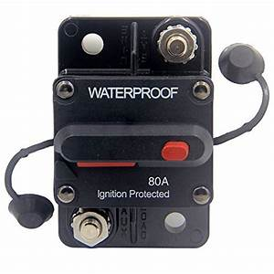 Zookoto 50 Amp Circuit Breaker  Marine Trolling Motors