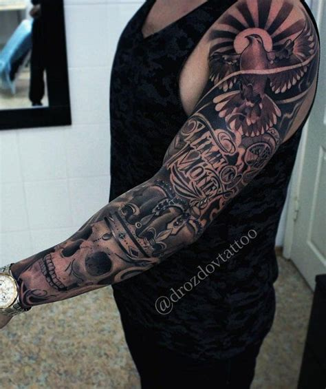 awesome examples  full sleeve tattoo ideas sleeve