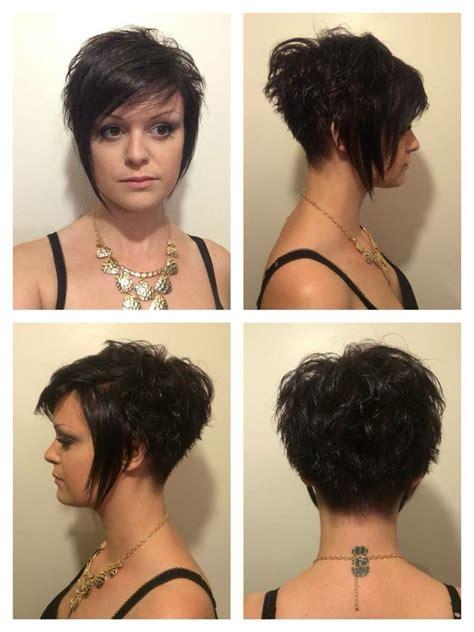 etonnant coupe cheveux femme court derriere long devant