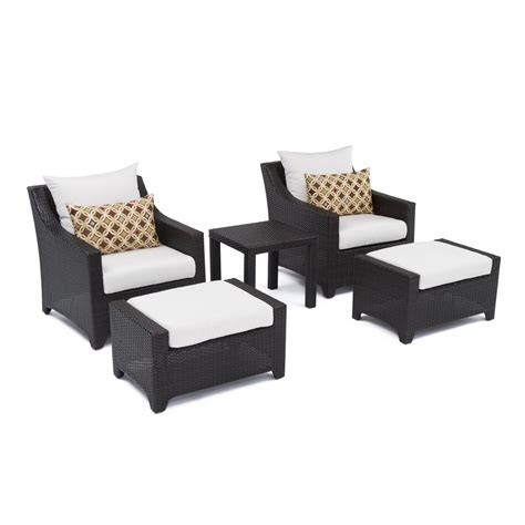 patio set with ottoman patio chair with ottoman set modern patio outdoor