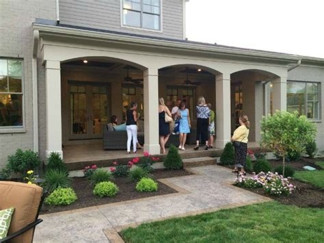 Back Porch Designs For Houses by Homearama House Tour 5 The Noelle Model Hooked