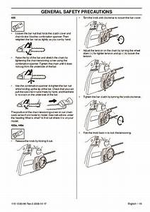 Husqvarna 435 435e 440e Chainsaw Owners Owners Manual