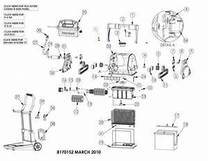 Parts Diagram - Maytronics Dolphin Pro X2