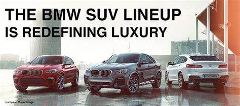 bmw sav lineup  bmw lease  finance specials