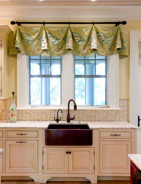 kitchen curtains design ideas curtains for the kitchen 34 photo ideas for inspiration