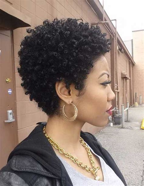 15 short natural haircuts for black women short