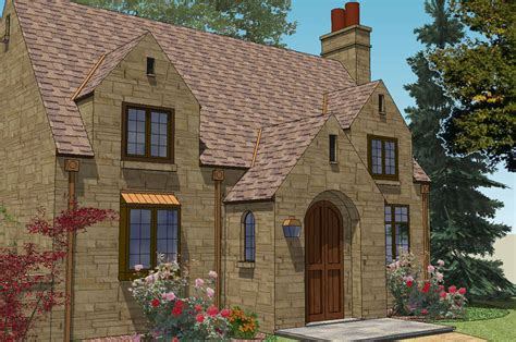 Darbytown English Cottage Home