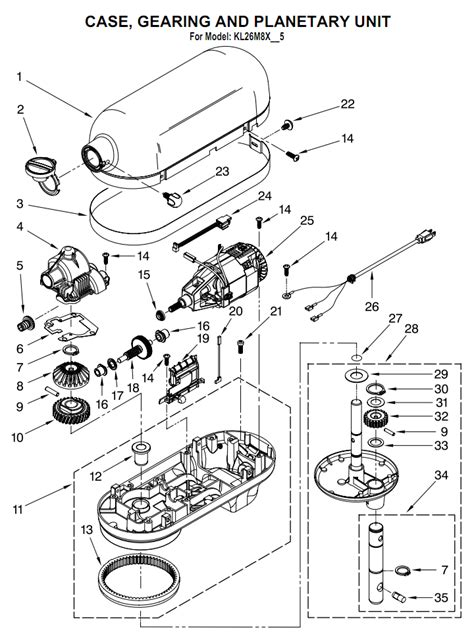 Kitchenaid Pro 600 Stand Mixer by Kitchenaid Mixer Parts Diagram Kitchen Design Photos