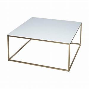 buy white glass and gold metal square coffee table from With gold metal and glass coffee table