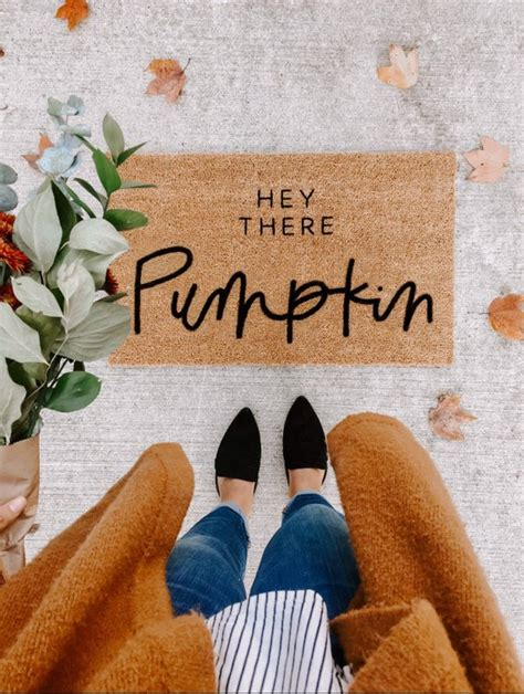fall doormat fall nesting 2018 the inspired room