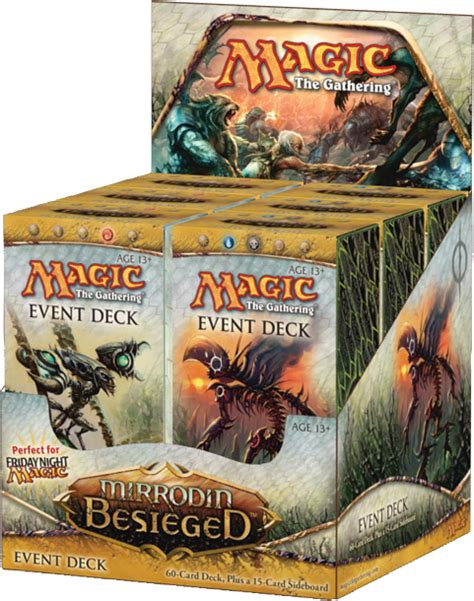 event decks more info daily mtg magic the gathering