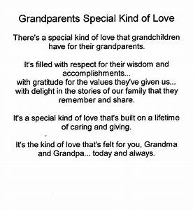 Grandparents Special Kind of Love | Grandparents ...