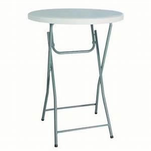 Table Ronde Haute : table haute bolero matoreca ~ Teatrodelosmanantiales.com Idées de Décoration