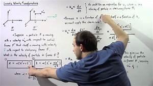 Lorentz Velocity Transformations