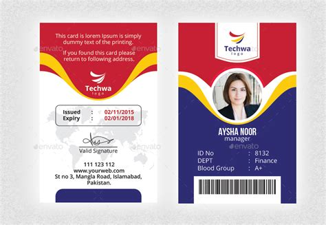 office id card  nasirktk graphicriver