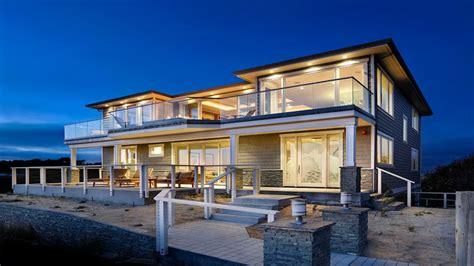 modern beach house exterior exterior house columns designs modern craftsman style home plans